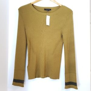 NWT Ann Taylor Olive Sweater